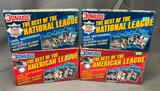 (4) Donruss Baseball Cards - (2) The Best of the National League & (2) The Best of the American