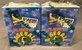 (2) 1993 Fleer Baseball Cards Basic Set Series I - Factory Sealed