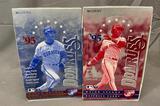(2) 1995 Donruss Major League Baseball Cards Series 1 & Series 2 - Not Sealed