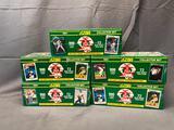 (5) SCORE 1990 Major League Baseball Collector Sets Product #99161 - Factory Sealed
