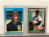 Lot of 2; Rookie Cards - 1985 Donruss #273 Red Sox William Roger Clemens Pitcher & 1987 Fleer #604