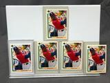 (5) 1991 Upper Deck SP1 Michael Jordan