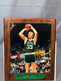 Signed LARRY BIRD Photograph Plaque - NBA Official Licensed 097857883