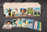 1979 Topps Set - Not Complete