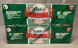 (2) 1992 Fleer Baseball Trading Cards Item# 450 Feat.