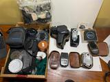 Lenses, Caps, Light Meters, Soligor Spot Sensor