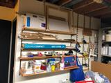 Everything on (5) Shelves - Wall