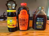 (3) Bottles of Honey