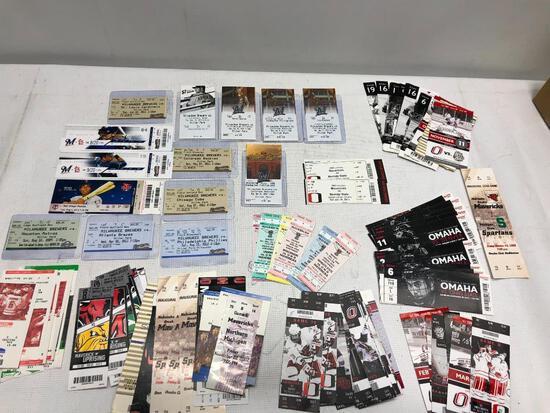 Hugh Lot of Various Tickets