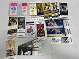 Lot of Vintage Admission Tickets