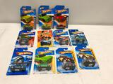 10 Hotwheels and one Matchbox VW Related Vehicles