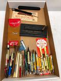 Wide Assortment of Vintage Pens Pencils and More