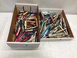 2 Boxes Full of Advertising Pens