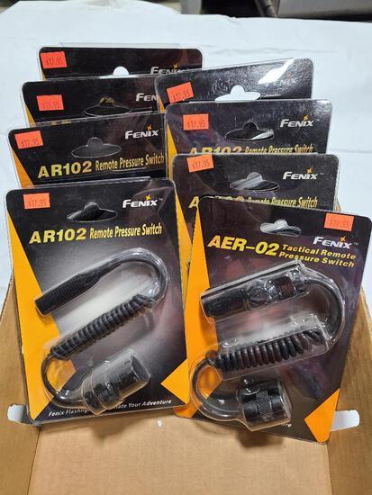 (8) FENIX Remote Pressure Switches Model AR102