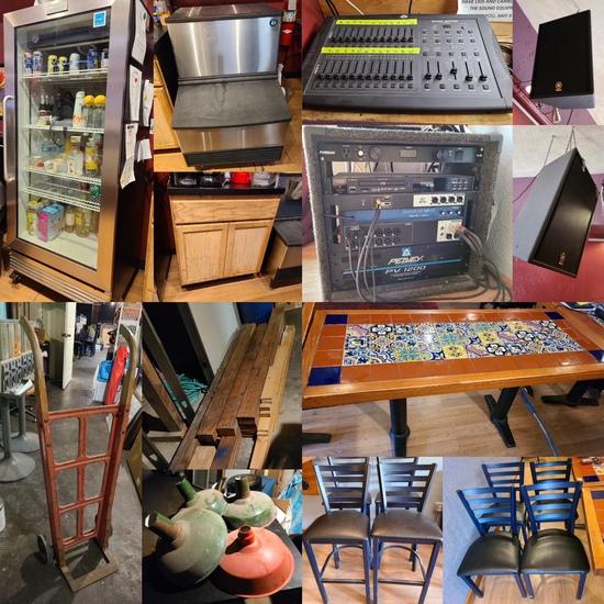 Restaurant Supply, Audio/Video, Supplies & Misc.