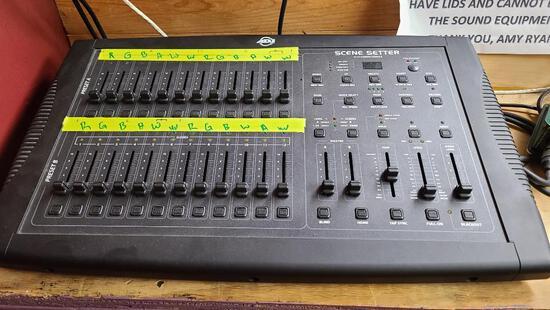 ADJ Scene Setter 24 CH Dimmer Console WORK Stage 2412 DMX