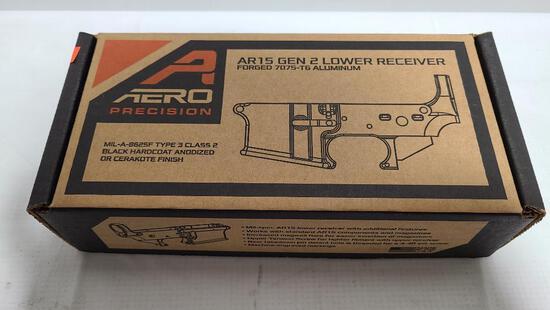 Aero Precision X15 AR15 Stripper Multi Cal Gen 2 Lower Receiver Black Anodized Serial # in Photo