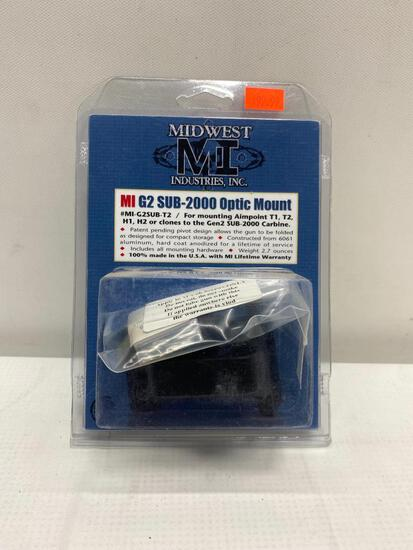 Midwest MI G2 SUB-2000 Optic Mount, MI-G2SUB T1, T2, H1,H2