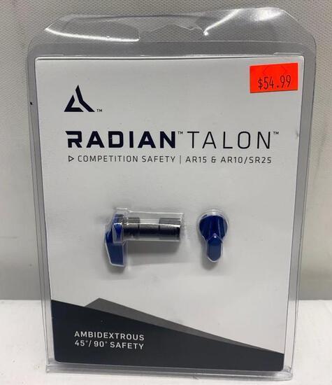 Radian Talon Competition Safety AR15, AR10/SR25. Ambidextrous