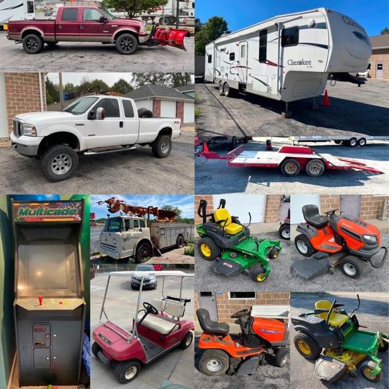 Polecat, Camper, Trailer, Trucks, Mowers,Golf Cart