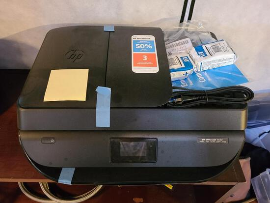 New HP OfficeJet 4650 All-In-One Printer w/ Ink