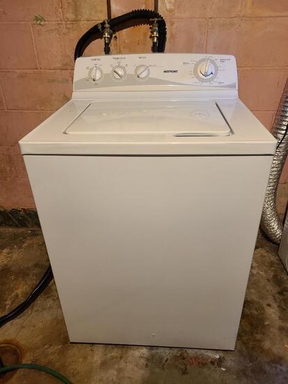 Hotpoint Washing Machine, White, Model: HTWP1400F2WW, SN: VF198208H