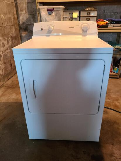 Hotpoint Clothes Dryer Model: HTDX100ED6WW, SN: TF712424C