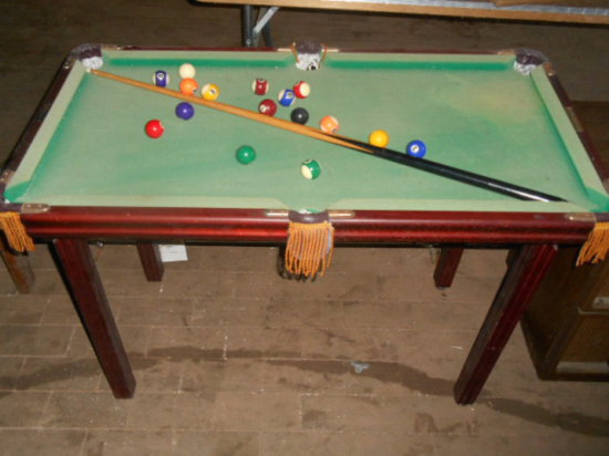 Billiards Minnesota Fats Mini Auctions Online Proxibid - Fats pool table