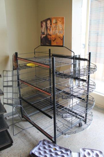 Merchandiser Rack Used For Fr Auctions Online Proxibid