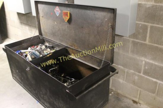 """Concert Communications Equipment Large Steel Storage Crate 60""""x24""""x24"""""""