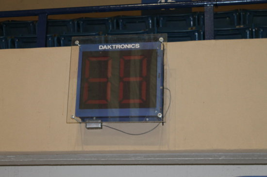 "Lot of 2 Daktronics Arena Creighton Bluejays Basketball Shot Clocks 24"" x 24"""