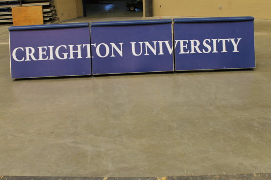 Lot of 3 Signco RT8 Series Rotating Scorers Tables Spelling Creighton University