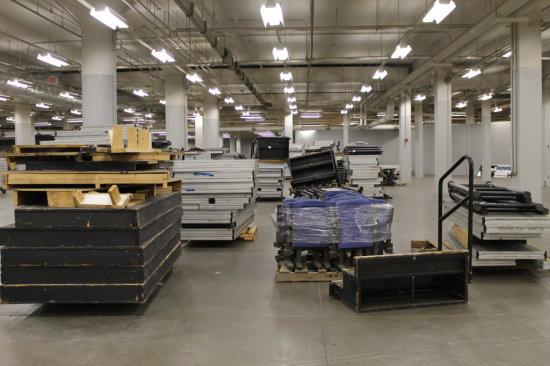 Basketball & Hockey Arena Leveltation System w/ Decks, Pank w/ Decks, Panels, Railings, Platforms ++