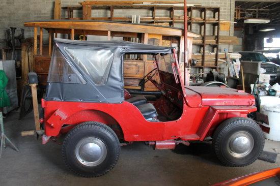 1946 Jeep Willys CJ2A w/ Column Shift - RARE, VIN: CJ2A-15199, 4 Cylinder, New Brakes & Transfer Cas
