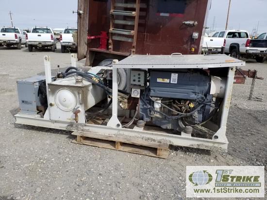 HYDRAULIC PUMP, DEUTZ DIESEL ENGINE, SKID MOUNTED | Heavy