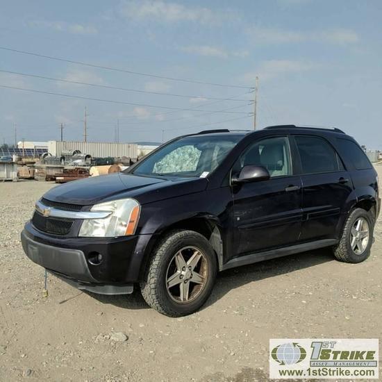 2006 CHEVROLET EQUINOX LT, 3.4L GAS, AWD, 4 DOOR