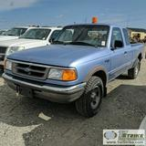 1997 FORD RANGER XLT, 4.0L GAS, 4X4, EXTENDED CAB
