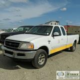 1997 FORD F150 XLT, 4.6L GAS, 4X4, EXTENDED CAB, LONG BED