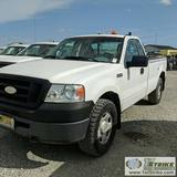 2007 FORD F150 XL, 4.6L TRITON GAS, 4X4, REGULAR CAB, LONG BED