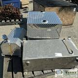3 EACH. FUEL TANKS, ALUMINUM, APPROX 20-50GAL