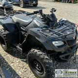 ATV, 2011 SUZUKI KINGQUAD 400 ASI, 4X4
