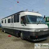 MOTORHOME, 1989 BEAVER MARQUIS, 39FT, CLASS A, DETROIT V8 DIESEL, AC/GENERATOR, UNDER CARGO STORAGE