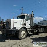 WINCH BED TRUCK, 2007 KENWORTH C500B , CAT C15 475 ACERT ENGINE, EATON FULLER MANUAL TRANSMISSION