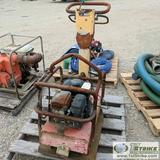 PLATE COMPACTOR, DYNAPAC WALK BEHIND 800, SUBARU GAS ENGINE