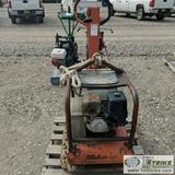 PLATE COMPACTOR, MIKASA MODEL MVH-402 GHB 925 POUND, HONDA GAS MOTOR