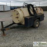 BOILER TRAILER, CLEAVER BROOKS, WITH HOSES AND ATTACHMENTS
