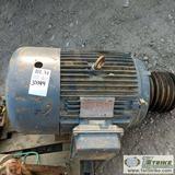 ELECTRIC MOTOR, NORTH AMERICAN ELECTRIC, CAT NO PE 324T-40-4, 40HP, 60HZ, 1760RPM