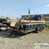 FLOATING DREDGE, 10 INCH, KEENE PUMP, SUBARU ENGINE WITH SPARE, ON TRAILER. NO TITLE