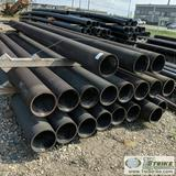 1 ASSORTMENT. DUCTILE IRON PIPE, 19 EACH. 10IN X 20FT, HEAVY WALL, GROOVED, COATED