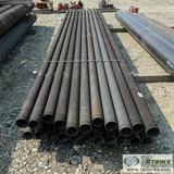 1 ASSORTMENT. DUCTILE IRON PIPE, 22 EACH. 3IN X 20FT, HEAVY WALL, GROOVED, COATED